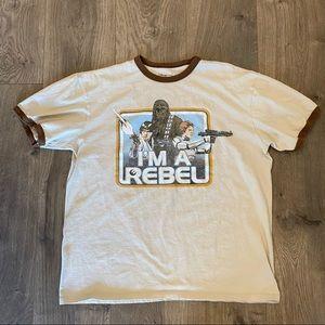 Disney Store Star Wars Rebel Shirt Size M
